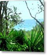 South Shore Bermuda Metal Print