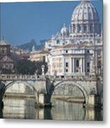 St Peters Basilica, Rome, Italy Metal Print