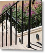 Stairs And Rails Metal Print