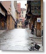 Streets Of Florence Metal Print