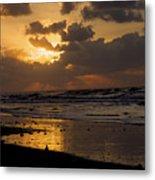 Sunrise Before The Storm Metal Print