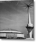 The Astrodome Aka The Eighth Wonder Metal Print by Everett