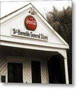 The Burnside General Store Metal Print