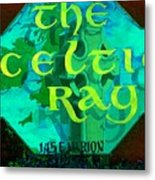 the Celtic Ray Metal Print