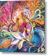 The Flowers Of Sea Metal Print by Elena Kotliarker
