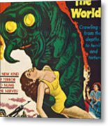 The Monster That Challenged The World Metal Print by Everett