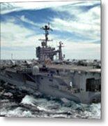 The Nimitz-class Aircraft Carrier Uss Metal Print