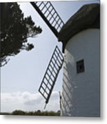 The Old Irish Windmill Metal Print