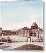 The Palace Of Versailles. C. 1880 Metal Print