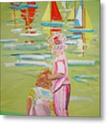 The Toy Regatta Metal Print