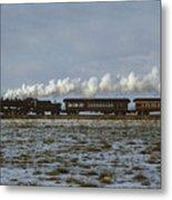 The Train To Nowhere Metal Print