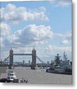 Tower Bridge.  Metal Print