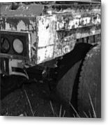 Truck Lights Metal Print