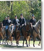 Union Cavalry Metal Print