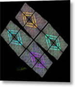 Urban Space Metal Print