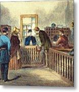Va: Freedmens Bureau 1866 Metal Print
