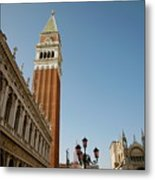 Venice Metal Print by Louise Fahy