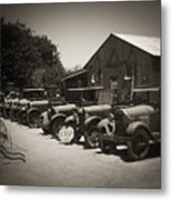 Very Used Cars Metal Print
