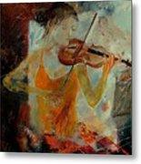 Violinist 67 Metal Print