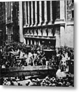 Wall Street Crash 1929 Metal Print