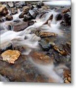 Water On The Rocks Metal Print