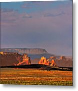 Wide-open Spaces - Page Arizona Metal Print