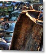 Wrecking Yard Study 8 Metal Print