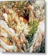 Yucca Cool Patch  Metal Print