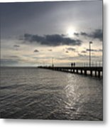 Frankston Beach Metal Print