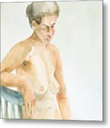 Nude Series Metal Print