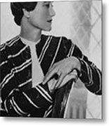 Duchess Of Windsor Wallis Simpson Metal Print