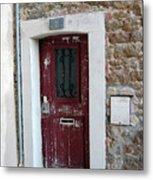 French Doors Metal Print