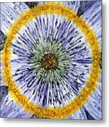 Digital Flower Painting Metal Print