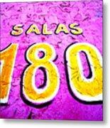 180 Santiago Pinked  Metal Print