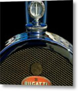 1927 Bugatti Replica Hood Ornament Metal Print