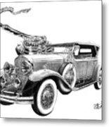 1929 Cadillac  Metal Print