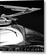 1929 Duesenberg Model J Hood Ornament 2 Metal Print