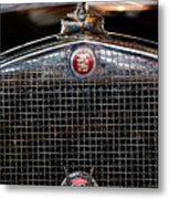 1930 Cadillac Roadster Hood Ornament 3 Metal Print by Jill Reger