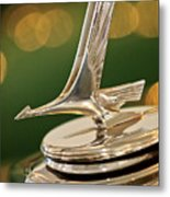 1932 Studebaker Dictator Custom Coupe Hood Ornament Metal Print