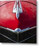 1933 Oldsmobile Hood Ornament Metal Print