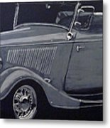 1934 Ford Roadster Metal Print