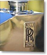 1935 Rolls-royce Phantom II Hood Ornament Metal Print