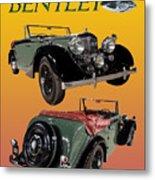 1939 Bentley Drop Head Coupe Metal Print