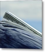1941 Chevrolet Hood Ornament 2 Metal Print
