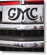 1946 Gmc Truck Grill 2 Metal Print