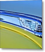 1947 Ford Super Deluxe Hood Ornament 2 Metal Print