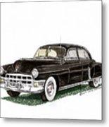 1949 Cadillac Fleetwood Sedan Metal Print