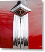 1949 Diamond T Truck Hood Ornament Metal Print