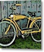 1949 Shelby Donald Duck Bike Metal Print