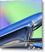 1950 Chevrolet Hood Ornament 3 Metal Print